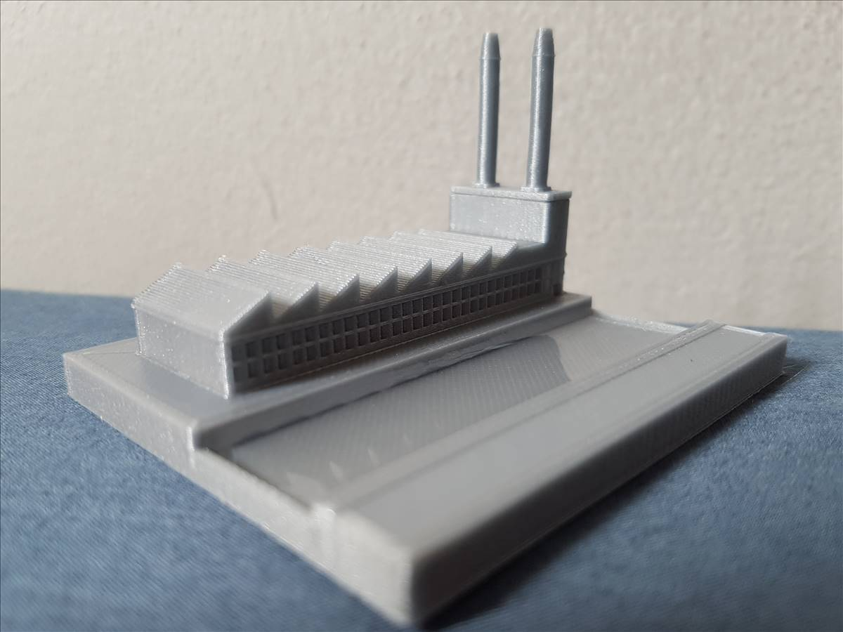 20190906_123325_0001.jpg Download free STL file Mini factory with real river • 3D printer model, Gophy