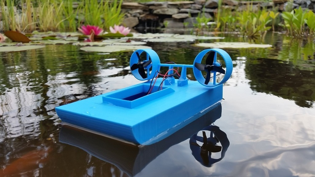 8e1b1d0f263af0eaef4ee35134bb961b_display_large.jpg Download free STL file Tiny Boat MK2 • 3D printer object, Gophy