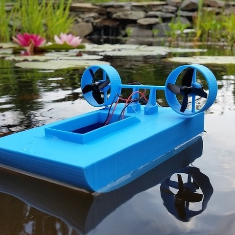 Download free 3D printing files Tiny Boat MK2, Gophy