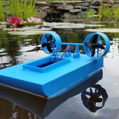 Free 3d printer files Tiny Boat MK2, Gophy