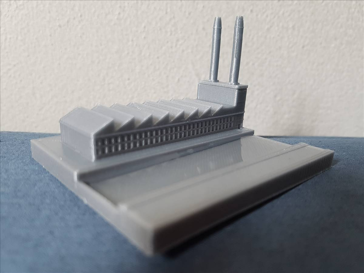 20190906_123147_0001.jpg Download free STL file Mini factory with real river • 3D printer model, Gophy
