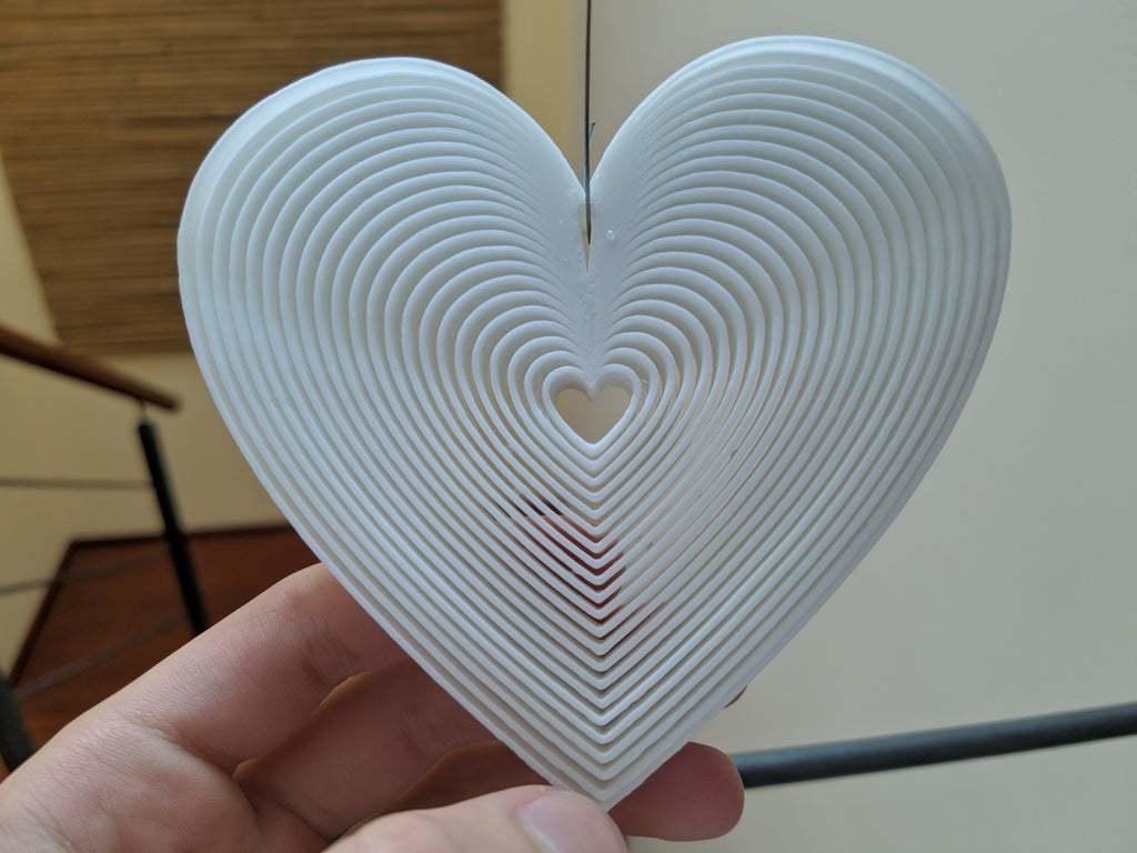 IMG_20200429_154937.jpg Download free STL file Trippy Heart Deco • 3D printer template, Gophy
