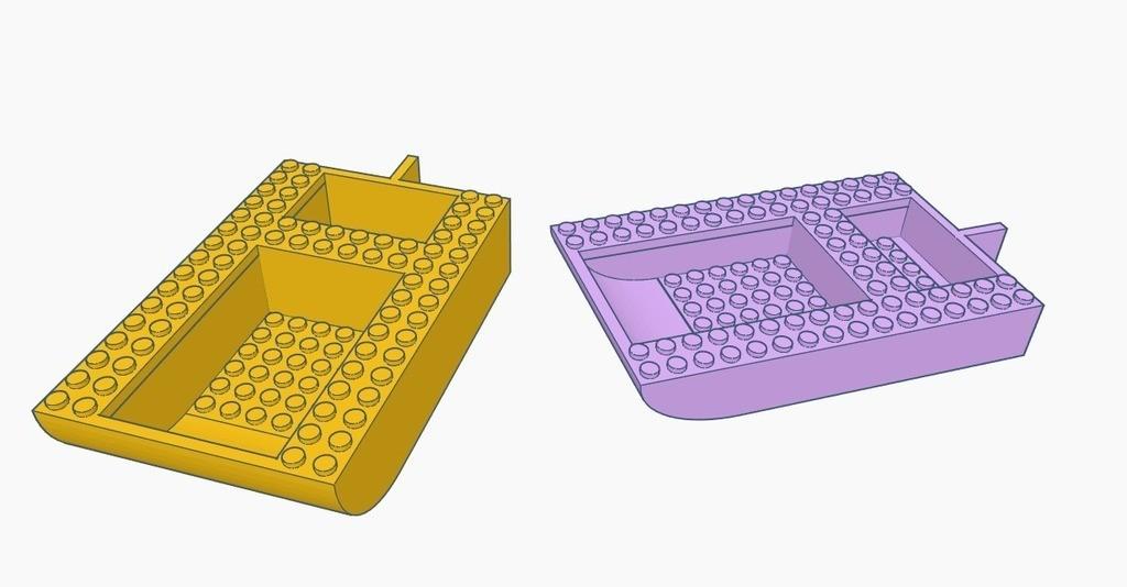 a8e2780ded836b35a8bff7d141b90a5f_display_large.jpg Télécharger fichier STL gratuit Coque de bateau LEGO • Objet à imprimer en 3D, Gophy