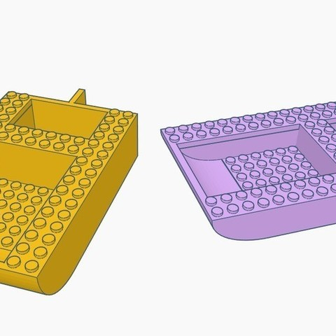 Download free 3D print files LEGO Boat Hull, Gophy