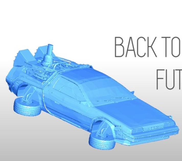 Capture d'écran 2018-07-19 à 18.05.17.png Download free STL file PRINTABLE DeLorean DMC-12 - Back to the future • 3D print model, Gophy