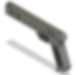 STL file Silver Trident gun from Mahouka koukou, CreativePhilip