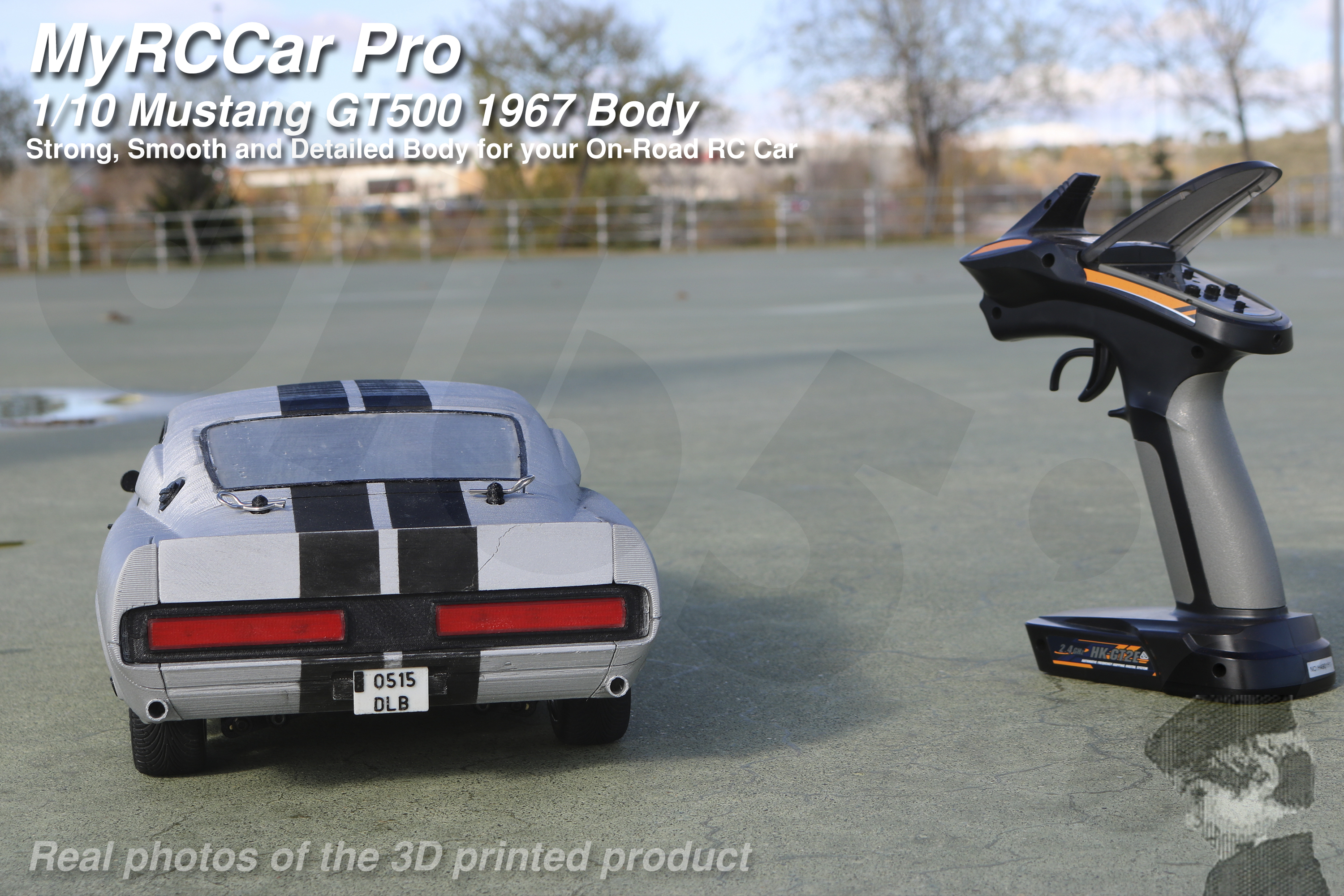 MRCC_Mustie_HORIZONTAL_3000x2000_05.jpg Descargar archivo STL MyRCCar Mustang GT500 1967 1/10 On-Road RC car body • Modelo para la impresora 3D, dlb5