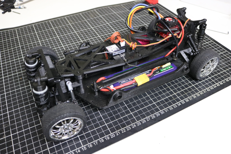 IMG_5074.JPG Download STL file MyRCCar 1/10 On-Road Build for Tesla Model S Body RC Car • 3D print object, dlb5