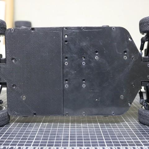IMG_5083.JPG Download STL file MyRCCar 1/10 On-Road Build for Tesla Model S Body RC Car • 3D print object, dlb5