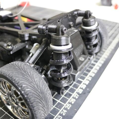 IMG_5079.JPG Download STL file MyRCCar 1/10 On-Road Build for Tesla Model S Body RC Car • 3D print object, dlb5