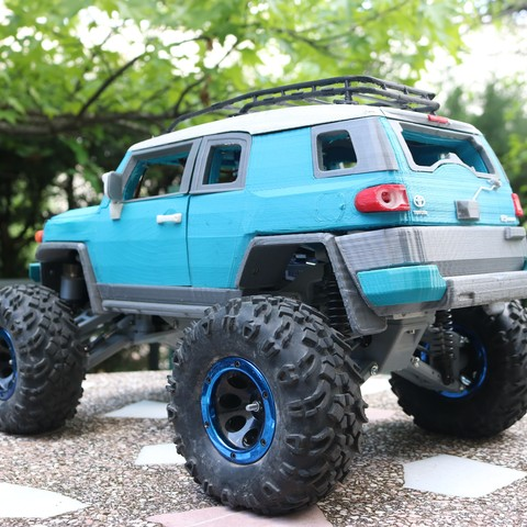 IMG_3687.JPG Download STL file MyRCCar 1/10 MTC Chassis Updated. Customizable chassis for Monster Truck, Crawler or Scale RC Car • 3D printer model, dlb5