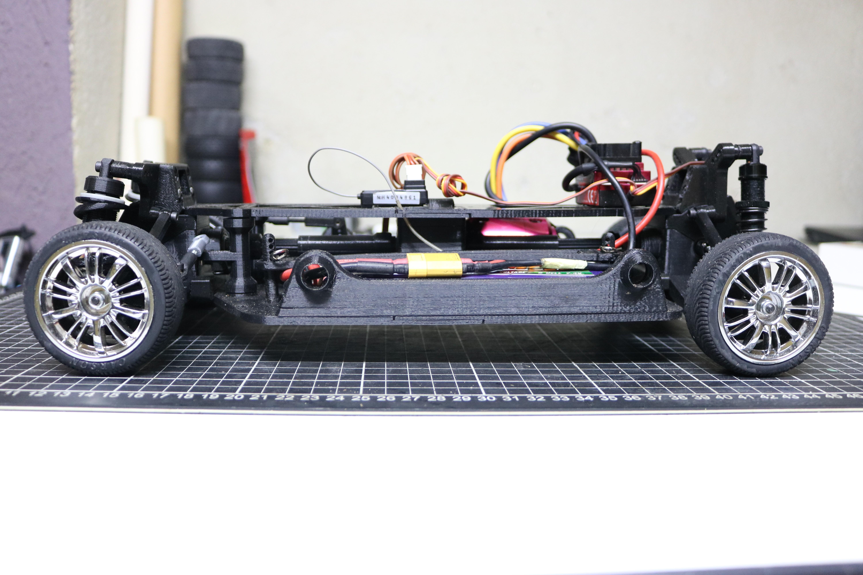 IMG_5075.JPG Download STL file MyRCCar 1/10 On-Road Build for Tesla Model S Body RC Car • 3D print object, dlb5
