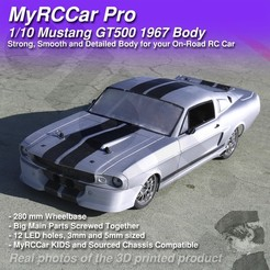 MRCC_Mustie_MAIN_2048x2048_C3Db.jpg Download STL file MyRCCar Mustang GT500 1967 1/10 On-Road RC car body • 3D printer model, dlb5