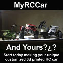 Free stl files MyRCCar: Key Concepts plus KEYRING :), dlb5