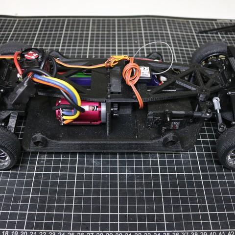 IMG_5069.JPG Download STL file MyRCCar 1/10 On-Road Build for Tesla Model S Body RC Car • 3D print object, dlb5