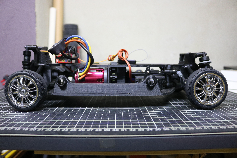 IMG_5070.JPG Download STL file MyRCCar 1/10 On-Road Build for Tesla Model S Body RC Car • 3D print object, dlb5