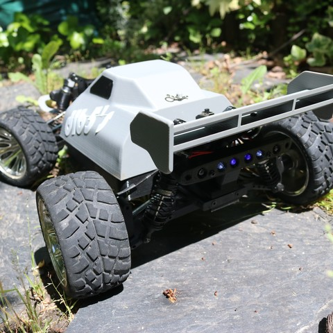IMG_3599.JPG Download STL file MyRCCar 1/10 OBTS Chassis Updated. Customizable chassis for On-Road, Buggy, Truggy or SCT RC Car • 3D printer design, dlb5