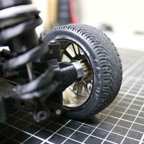IMG_5085.JPG Download STL file MyRCCar 1/10 On-Road Build for Tesla Model S Body RC Car • 3D print object, dlb5