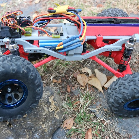 IMG_4978.JPG Download STL file MyRCCar 1/10 MTC Chassis Rigid Axles Version. Customizable chassis for Monster, Crawler or Scale RC Car • 3D printing design, dlb5