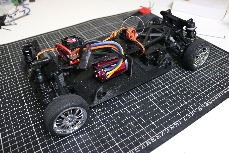 IMG_5071.JPG Download STL file MyRCCar 1/10 On-Road Build for Tesla Model S Body RC Car • 3D print object, dlb5