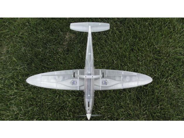 ae198c75380de34d90cbf963108f5eb0_preview_featured.JPG Download free STL file RC airplane Wing - Eclipson Model Y • 3D print template, Eclipson