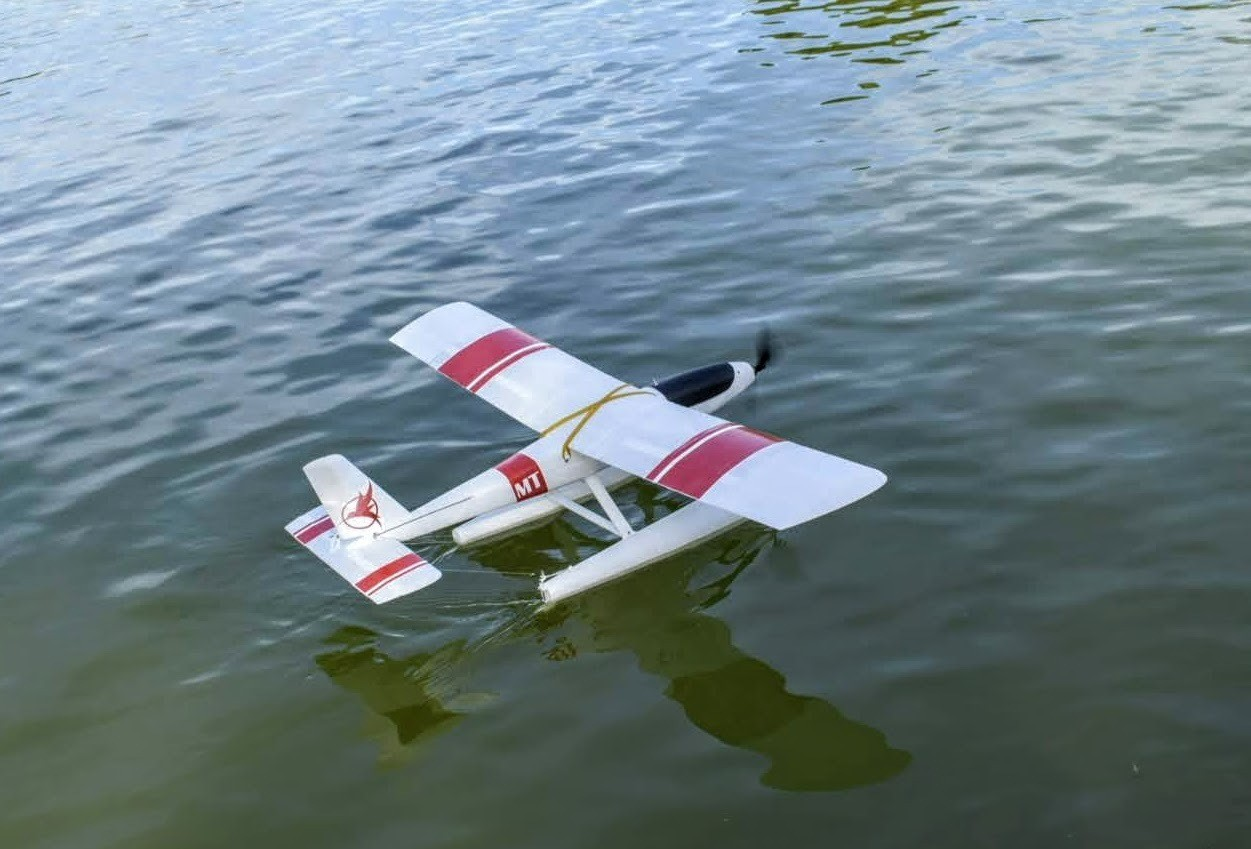 _DSC0187.jpg Download free STL file RC seaplane test part • 3D printable template, Eclipson