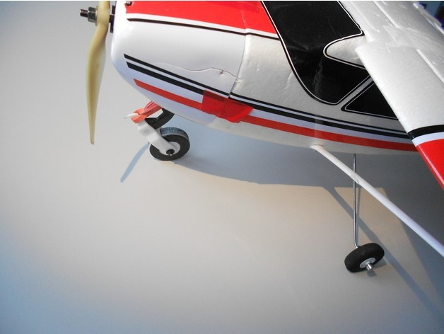 c69d040abed82b4af4680c7aa57d3a50_preview_featured.jpg Download free STL file RC plane nose landing gear • 3D print template, Eclipson