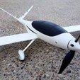 3.jpg Télécharger fichier STL gratuit Avion RC FPV - Fuselage modèle V • Plan pour imprimante 3D, Eclipson