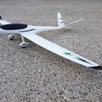 Download free STL Radio controlled airplane - Model V - Test part, Eclipson