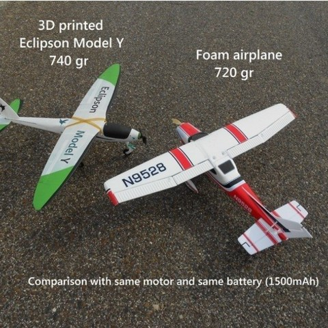 d062bd53420ab21e0407df8d4952101a_preview_featured.jpg Download free STL file RC plane nose landing gear • 3D print template, Eclipson