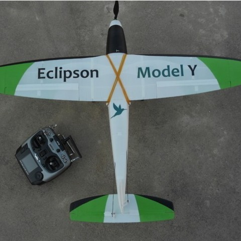 63c85d8fea3a65f4a0888e30607c53a7_preview_featured.jpg Download free STL file RC airplane Wing - Eclipson Model Y • 3D print template, Eclipson