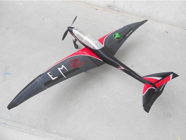 45ed3e5a1e47deb9c5c01fdc9389cc03_preview_featured-1.jpg Télécharger fichier STL gratuit Fuselage de l'avion RC - Eclipson modèle Z • Plan imprimable en 3D, Eclipson