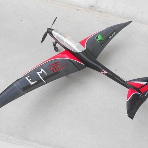 45ed3e5a1e47deb9c5c01fdc9389cc03_preview_featured-1.jpg Download free STL file RC plane fuselage - Eclipson model Z • 3D printer design, Eclipson