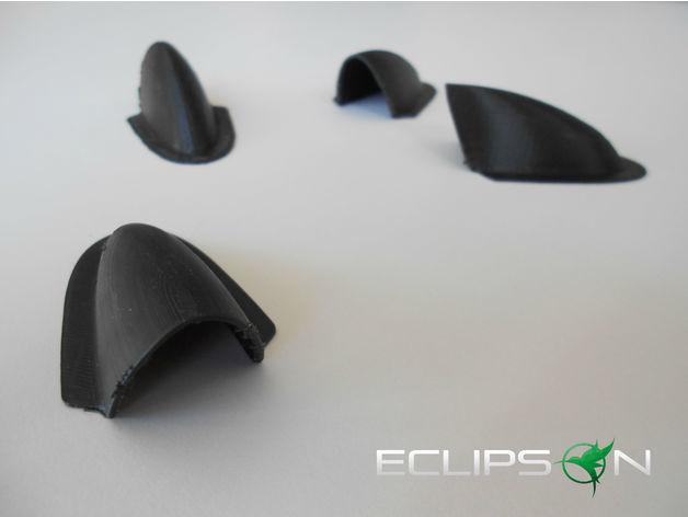 946b8d0c5fc0637bff2a60e5f0638b06_preview_featured.jpg Télécharger fichier STL gratuit Couvercle de cornet d'asservissement plan RC • Modèle à imprimer en 3D, Eclipson