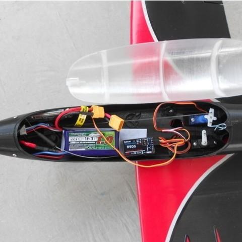 96f90e110ce3f53e13d9b0c6a2e3fff8_preview_featured.jpg Download free STL file RC plane fuselage - Eclipson model Z • 3D printer design, Eclipson