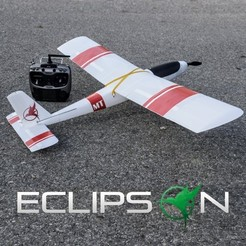 Archivos 3D gratis Free RC airplane, Eclipson