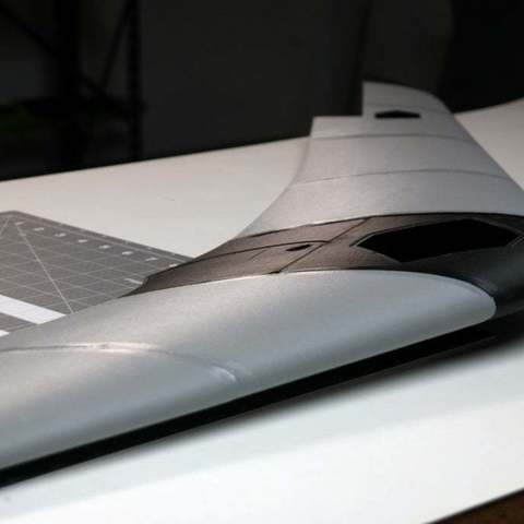 3dd29aaf1d3d2bf5bdd9b2050f78a0e2_display_large.JPG Download free STL file Test part - Flying wing - UAV - The Blackwing - • 3D printable design, Eclipson