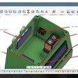 3D printer models Ultra-Sonic Distance & Speed! Measuring equipment, Mirketto