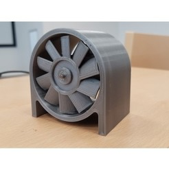 Free 3d printer designs High Speed ducted fan, Mirketto