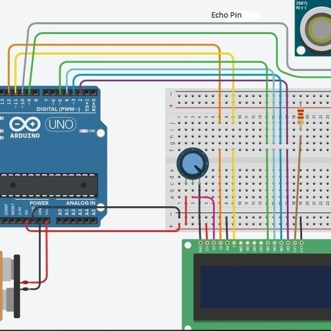 Elettric schematics.jpg Download STL file Ultra-Sonic Distance & Speed! Measuring equipment • 3D print object, Mirketto