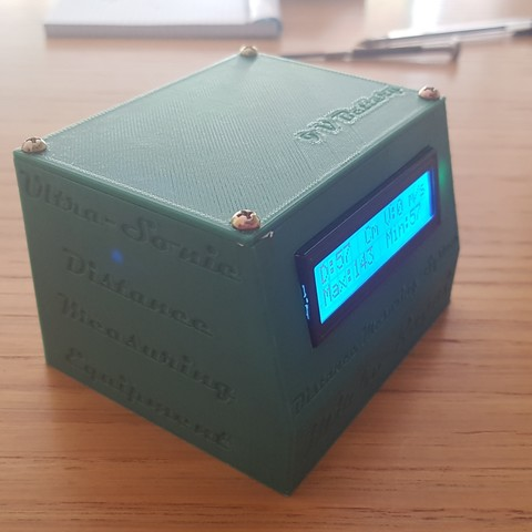 20180715_115444.jpg Download STL file Ultra-Sonic Distance & Speed! Measuring equipment • 3D print object, Mirketto