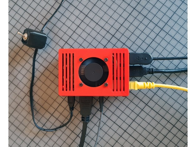ab766f6d7cb1a03dcce2f7a864b31b1c_preview_featured.jpg Download free STL file | TIKO | The Raspberry Pi Case w/ Fan • 3D printer design, Cre8iveLab