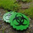 Free stl file Bio Hazard Coin, Cre8iveLab
