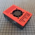 3d printer model | TIKO | The Raspberry Pi Case w/ Fan, Cre8iveLab