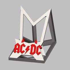 Capture.JPG Download STL file AC/DC Telephone support • 3D printing design, Oliv32