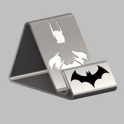 Capture1.JPG Download STL file Batman Phone Support • 3D print template, Oliv32
