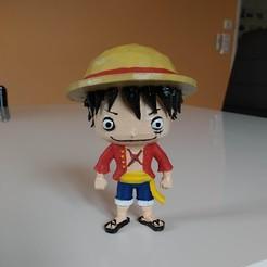 IMG_20200419_223426.jpg Télécharger fichier STL Monkey D. Luffy One Piece • Modèle à imprimer en 3D, Oliv32