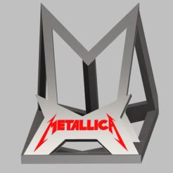 Télécharger objet 3D Metallica Support telephone , Oliv32