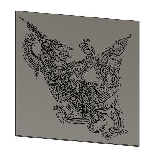 Download 3D printing models BirdMan Thailand, Crazy3DPrinter