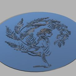 Download STL file The Last Of Us Part 2 Ellie tattoo Plaque • 3D printer model, Crazy3DPrinter